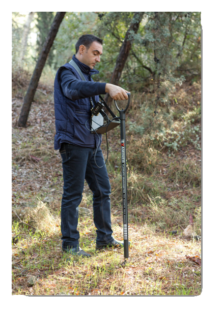 geo examiner magnetometer scan