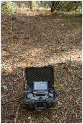 geophysical ground radar geo examiner 22 probes