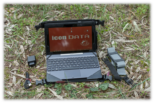 icon data detector logger tablet pc