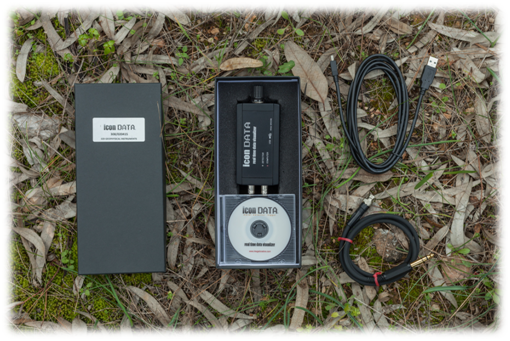 icon data metal detector logger