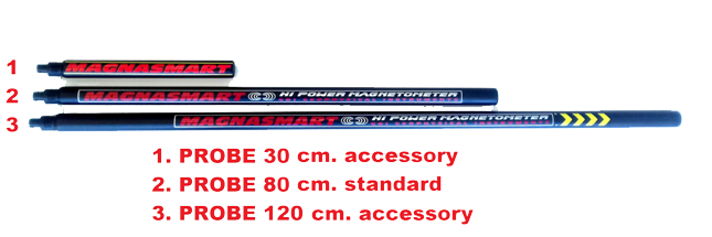 magnasmart magnetometer gradiometer probes