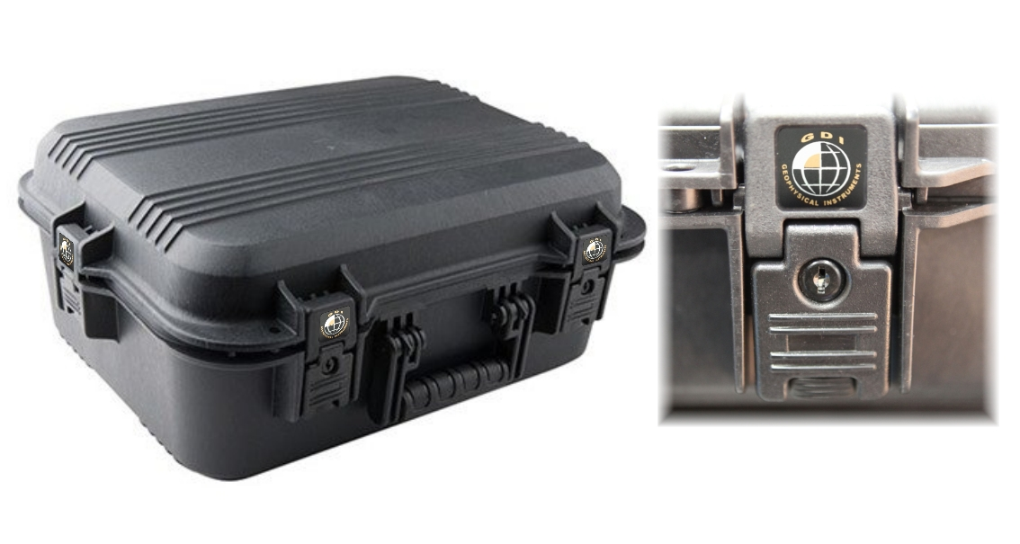 Quatroforce geophysical locators gold detectors case