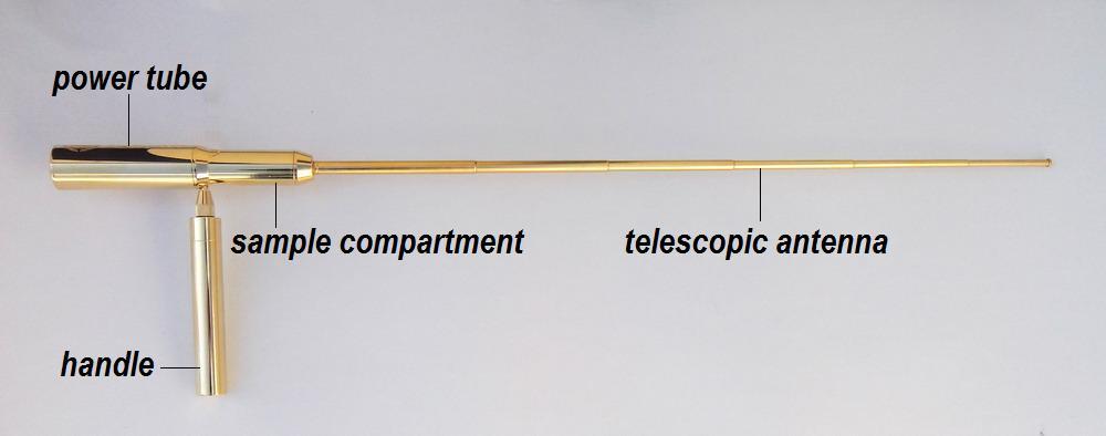 gold dowsing antenna rods detector nemesis