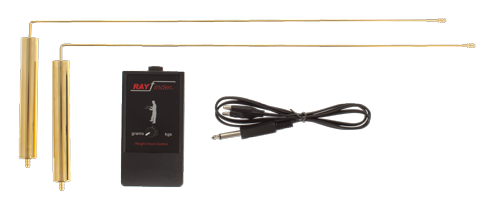 rayfinder gold detector dowsing L rods