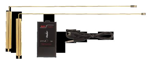 detector de oro rayfinder radiestesia varillas L