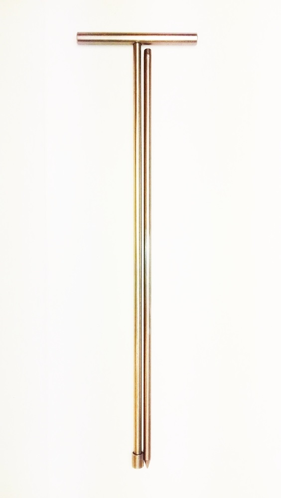 apollo gold dowsing rod ground probe