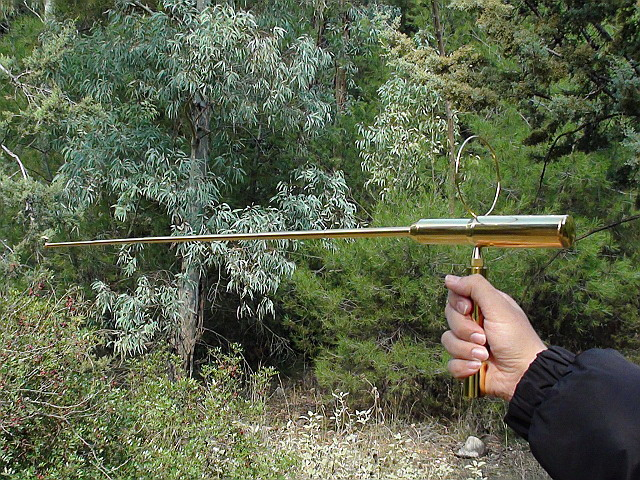ionic gold long range locator rod apollo
