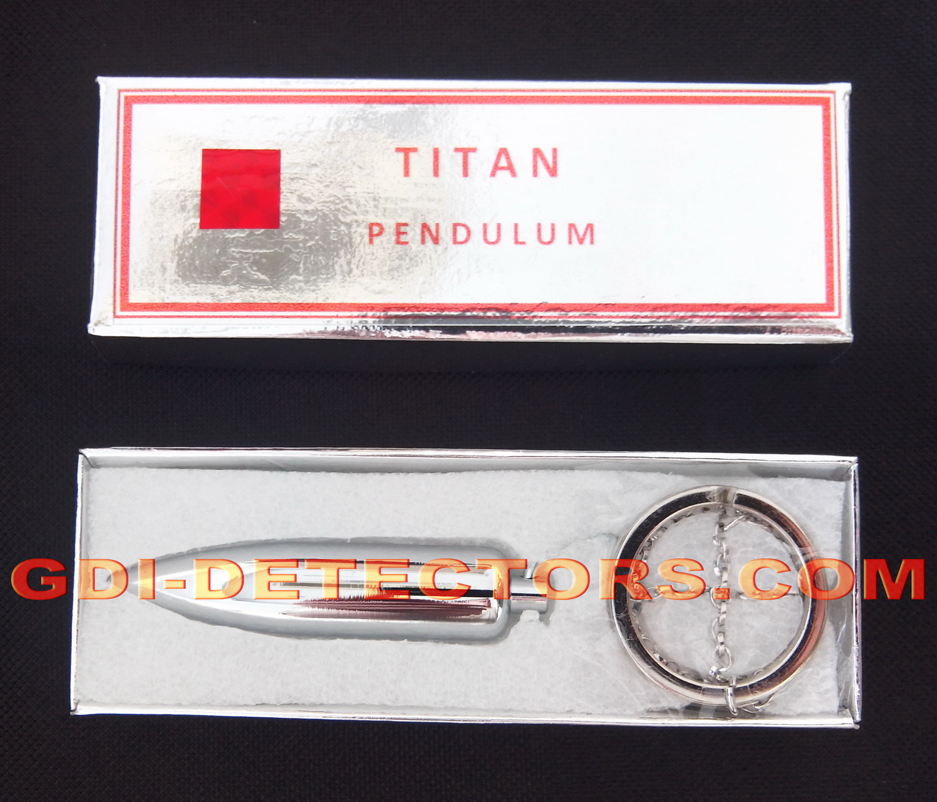 GDI detectors TITAN gold and water dowsing pendulum