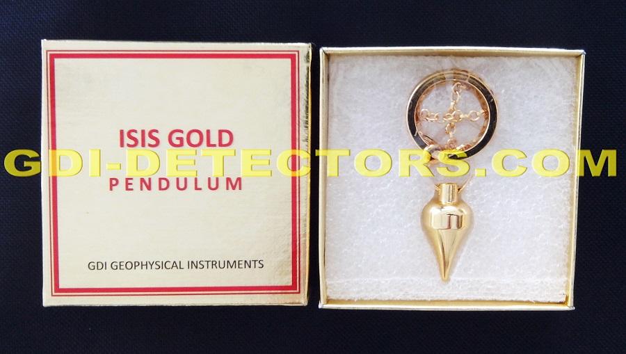 GDI isis gold dowsing pendulum