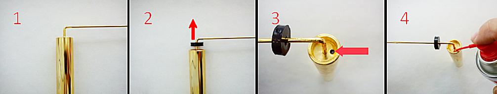 TELERODS telescopic long range locator gold dowsing rods