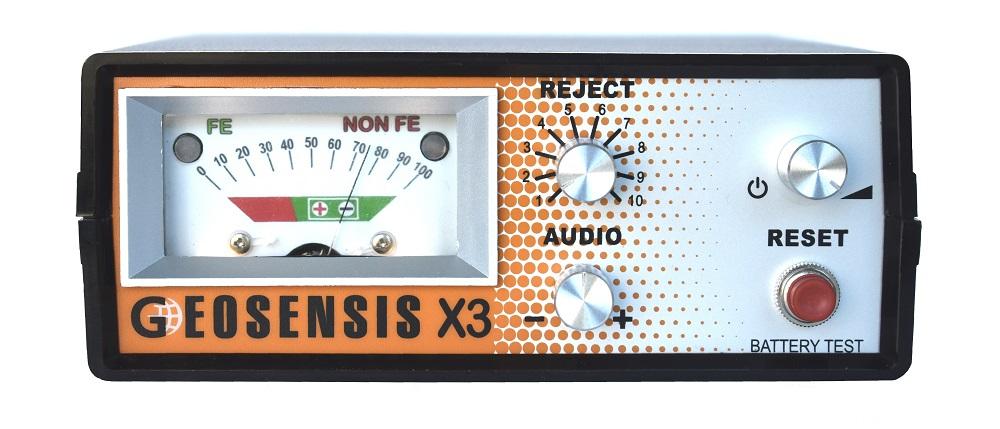 geosensis_x3_pulse_gold_detector_main_unit