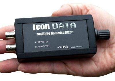 Convert GEOSENSIS X3 to 3D metal detector using ICON DATA logger
